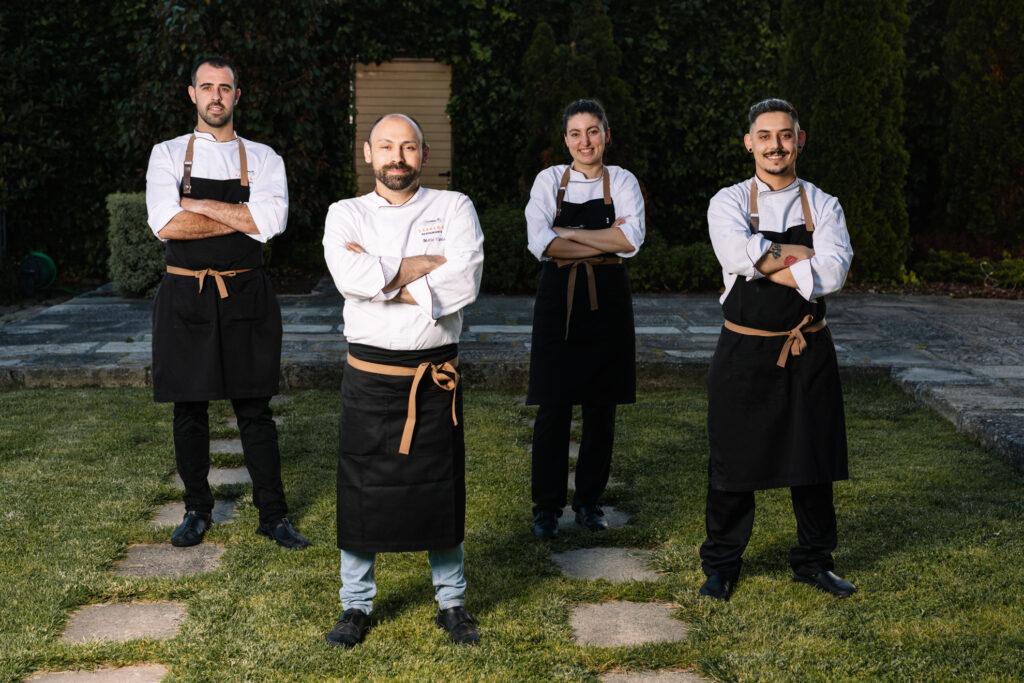 Equipo cocina Restaurante Sábrego